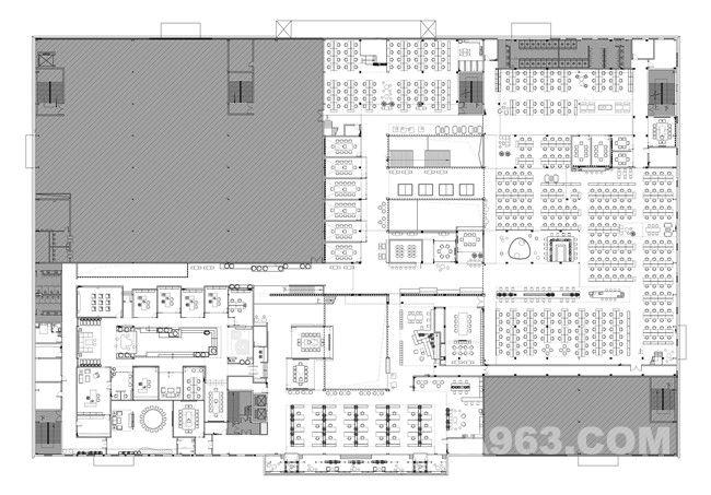 二层平面图 2F plan