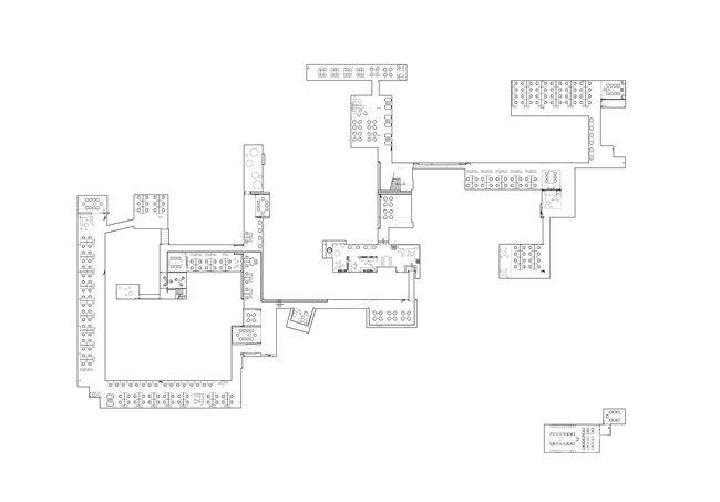 首层夹层平面图 1.5F plan