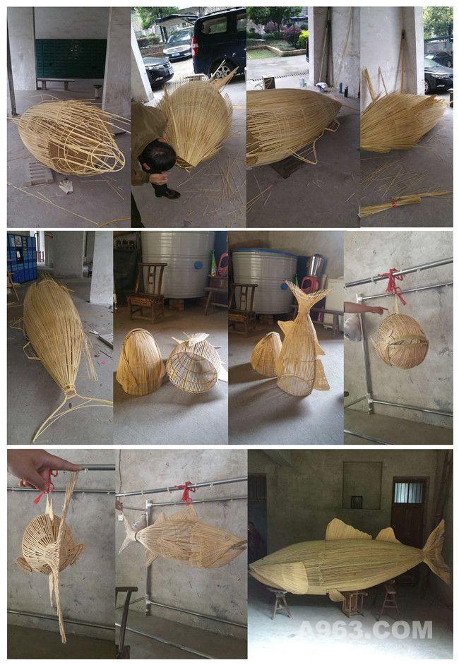 鱼编织过程