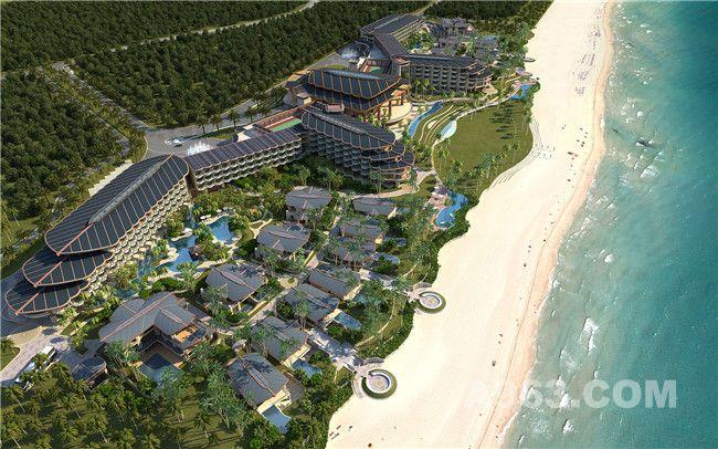 《石梅湾威斯汀度假酒店》-建筑外观