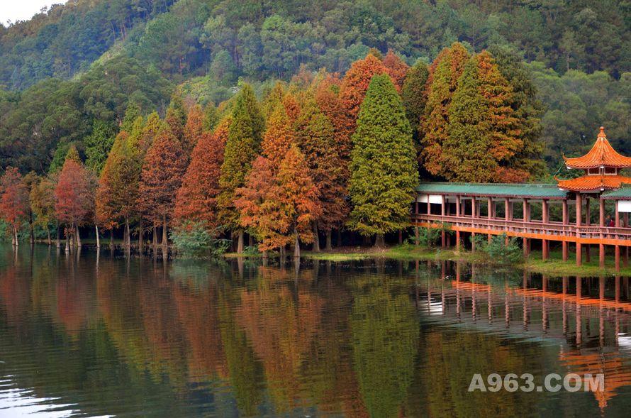 ▲梅州山水风景图