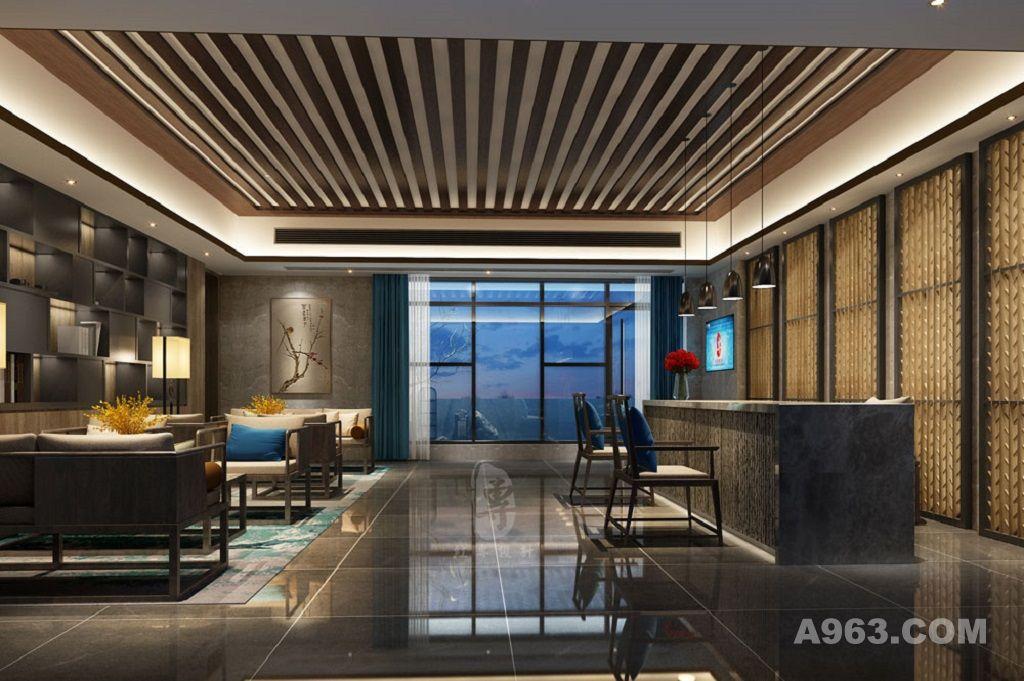黄冈五星级酒店设计公司|水云里禅茶精品酒店