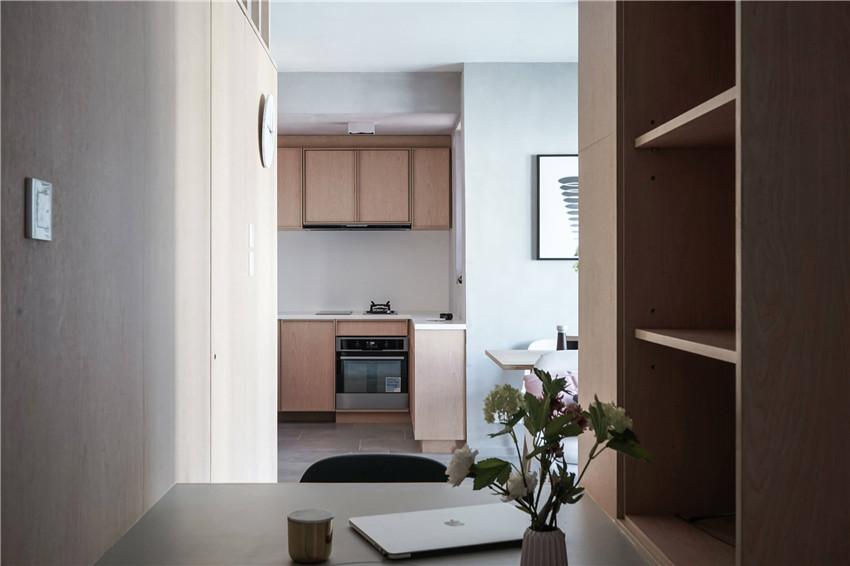 两居室改造一居室,香港33平米小公寓改造设计