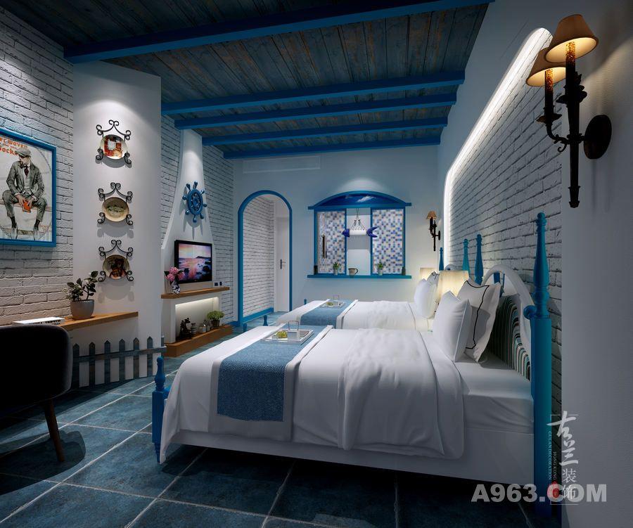 自贡主题酒店施工案例分享