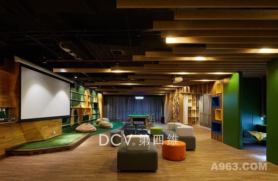 西安北航科技园多功能办公休闲会所设计