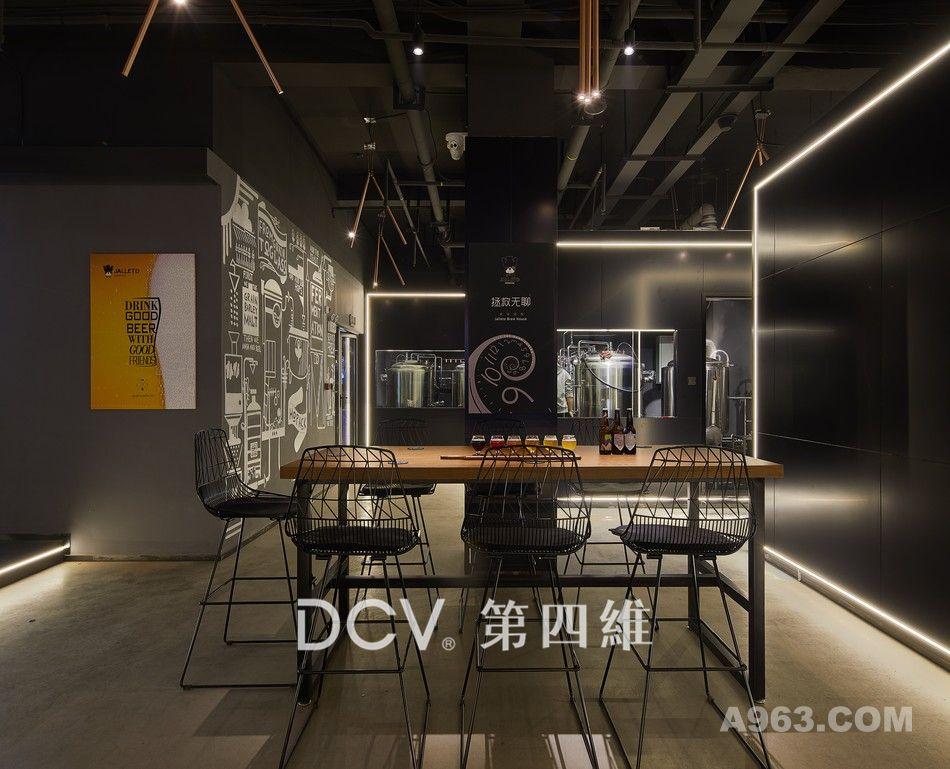 西安-酵徒精酿啤酒馆复合式餐厅室内装修设计说明