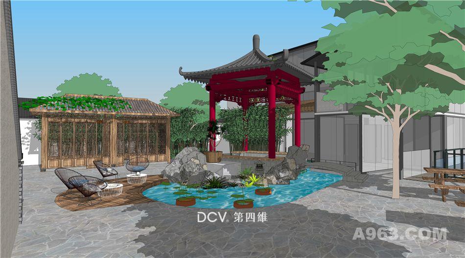 西安尚塬民宿酒店设计-室内设计、园林景观、品牌策划、建筑规划全案设计