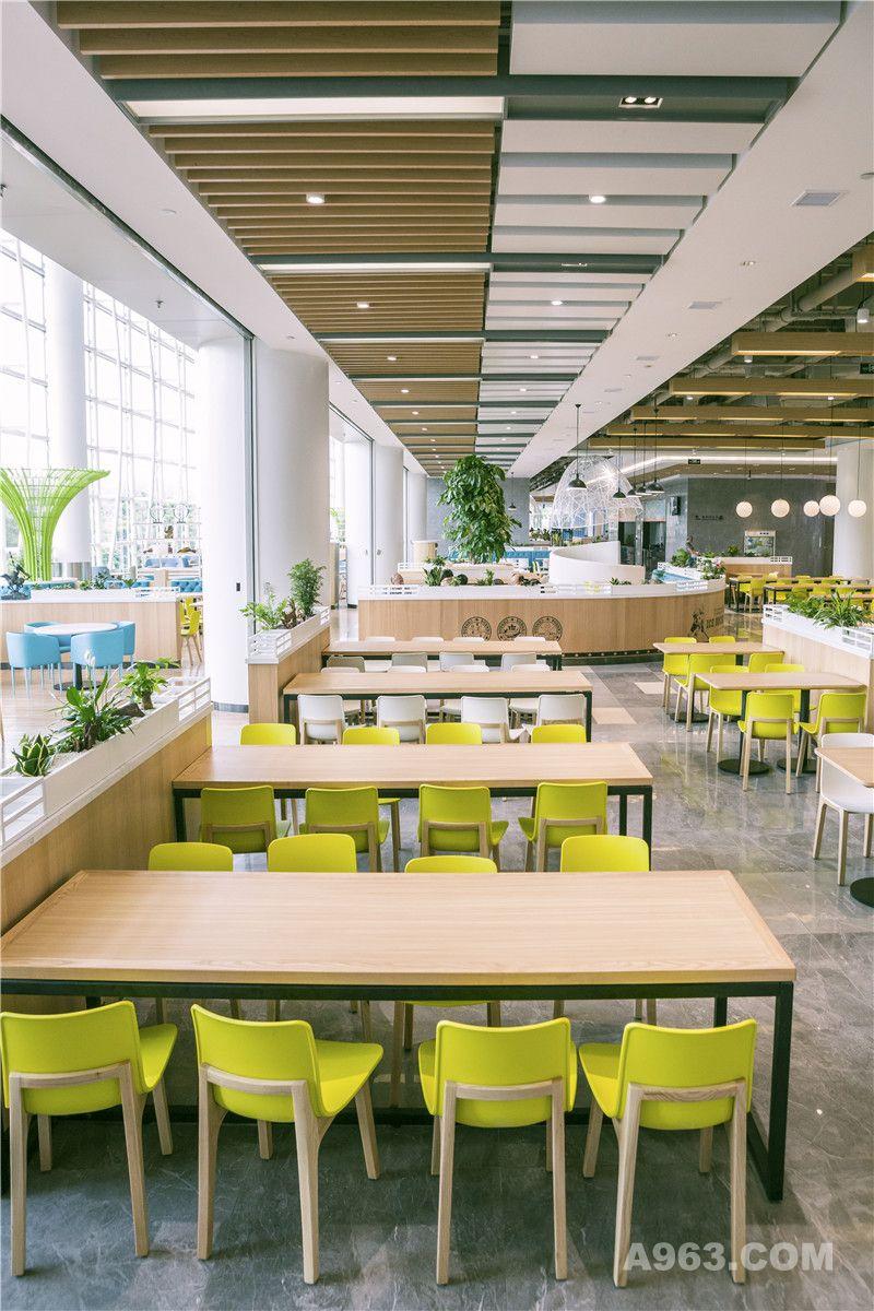 金枫设计-华为深圳F2员工餐厅