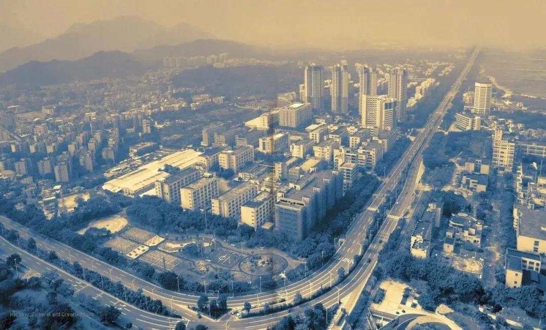 珠海唐家湾城市旧照