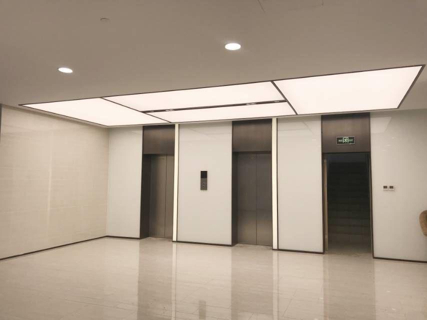 电梯厅区域实景图