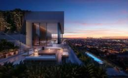 全球第十家艾迪逊酒店开业,由建筑大师John Pawson操刀,日落大道的风景360度尽收眼底~