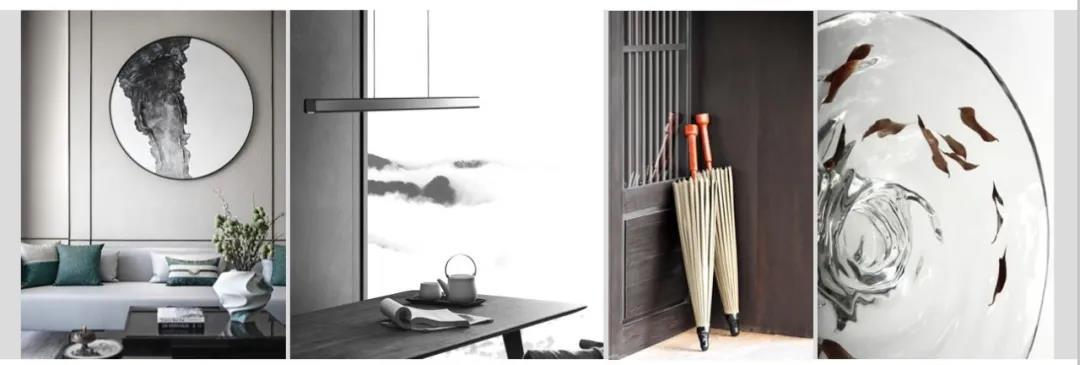 本案以新中式风格为基调,以充沛的美学特质彰显待客空间的仪式感,用新中式家具和专属订制而成的灯饰和装饰构件阐释当代空间语汇,整体呈现东方典雅、时尚的空间氛围,为居者带来返璞归真的高端、雅致体验。  同时,我们也采用了简洁的表现手法,来满足人们对空间环境感性的、本能的和理性的需求,以简约流畅的外表和和谐的色彩搭配展现宁缺毋滥的内在精髓,致力于营造出一种简单舒适而不失品味的生活形态。