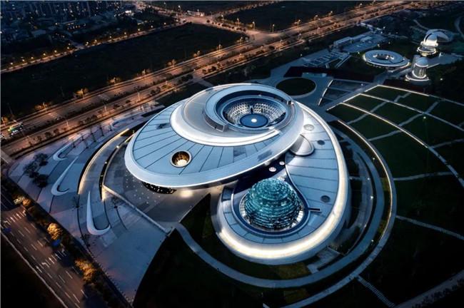 Ennead倾力打造全球规模最大天文馆,无直线直角真实反映宇宙几何形态和天体运动