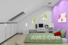 40张现代卧室装修时尚效果图   589057次   现代卧室   卧