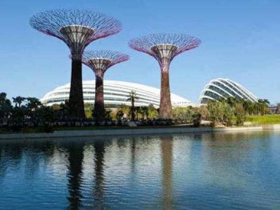 新加坡marina bay sands空中花园设计欣赏_中图片