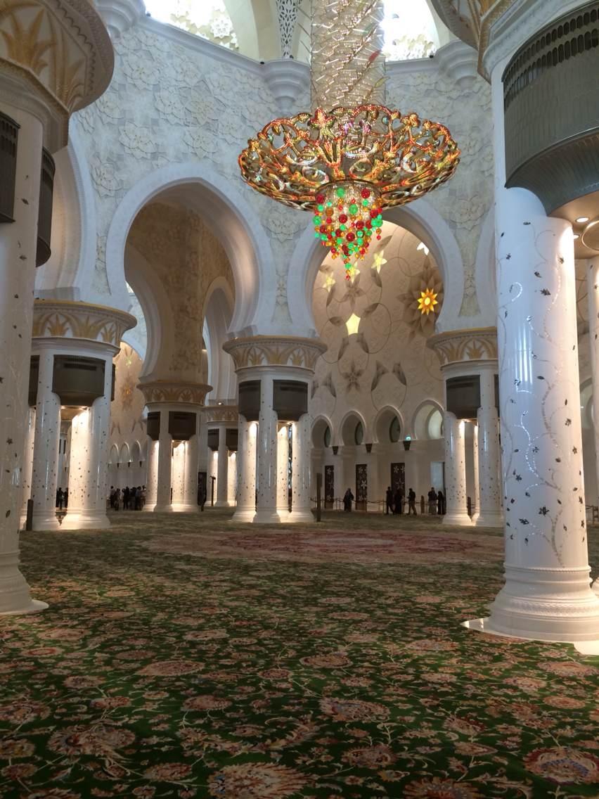 设计之旅――阿布扎比清真寺 室内设计师孙燕设计观点