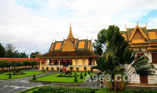 王宮 金边/柬埔寨王宮建筑艺术欣赏(图四)