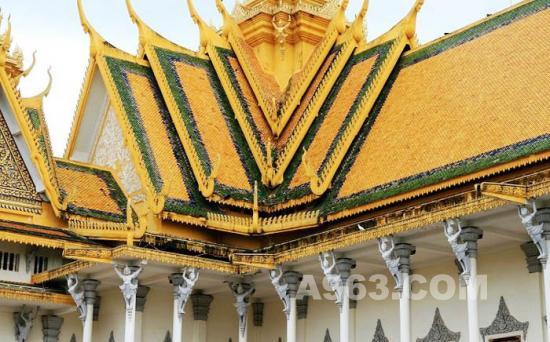 王宮/柬埔寨王宮建筑艺术欣赏(图十)