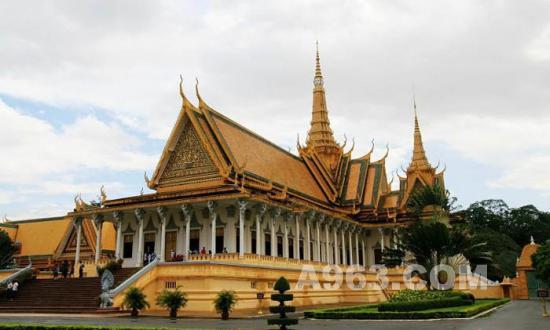 壁纸 王宮/柬埔寨王宮建筑艺术欣赏(图十一)