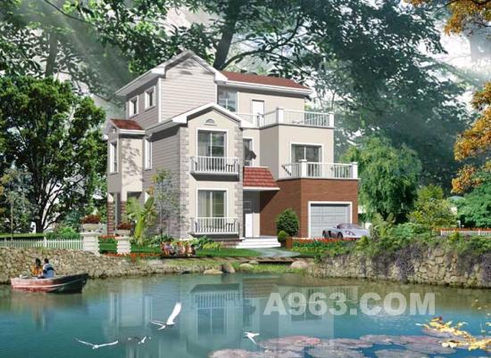 40款现代别墅建筑效果图设计欣赏