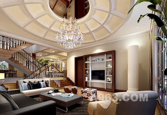 著名室内设计师陈德伦谈别墅装修设计_中华室广告设计工作划分图片