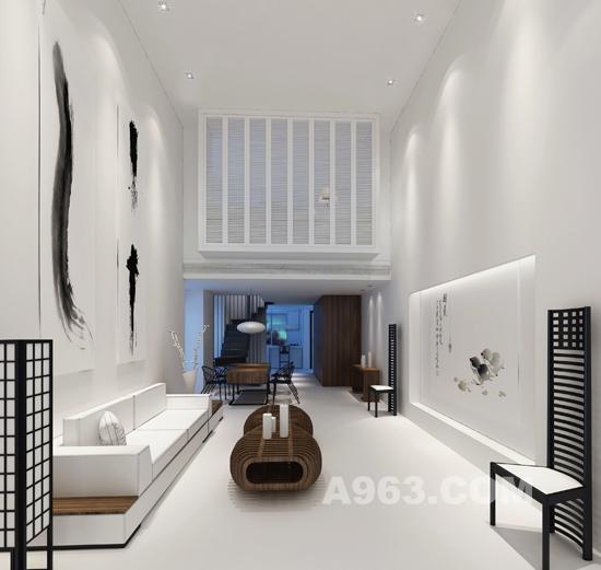 2010第三届鹏城杯样板房设计分析优秀奖现状茶文化的当代室内设计作品大赛图片