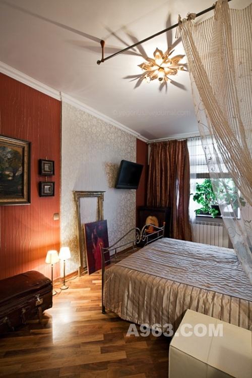 70平米小公寓设计 明斯克复古装修风格