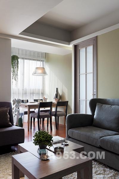 巧用色彩和隔断 营造现代简洁的欧美风格