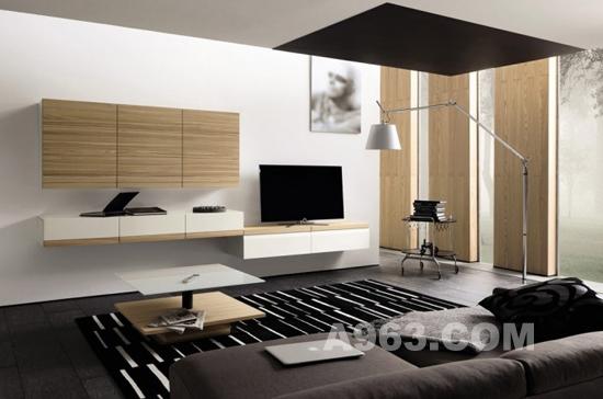 现代风依旧 国外起居室设计欣赏