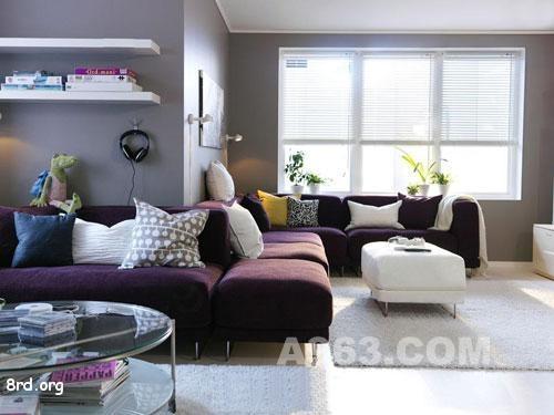 宜家家居,北欧风格客厅卧室装修设计