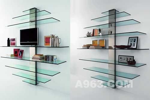 富有创意的书架的设计