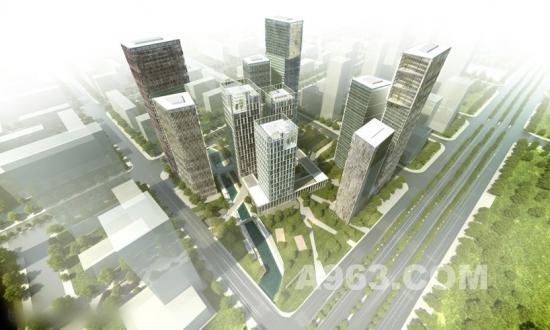 南京高层楼宇建筑设计效果图 中华室内设计网