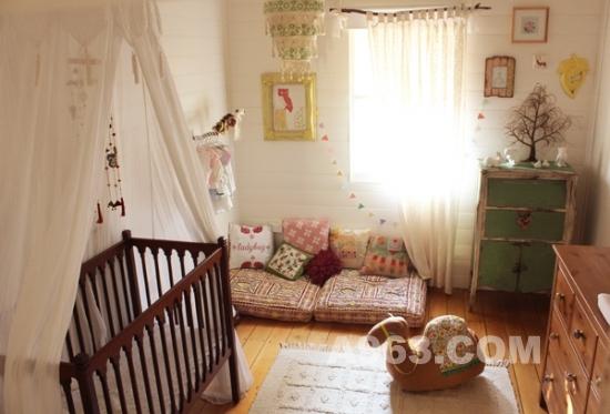 下载着幸福的暖色调婴儿房设计_中华室内设计办公建筑设计规范洋溢图片