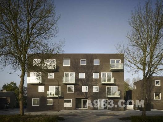 荷兰贝克贝亨银杏树叶公寓