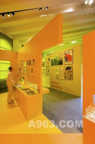 展馆设计欣赏:Fabio Novembre 米兰三年展