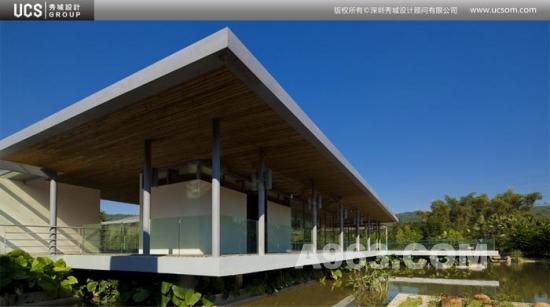 林间会馆 自然天成的林间建筑