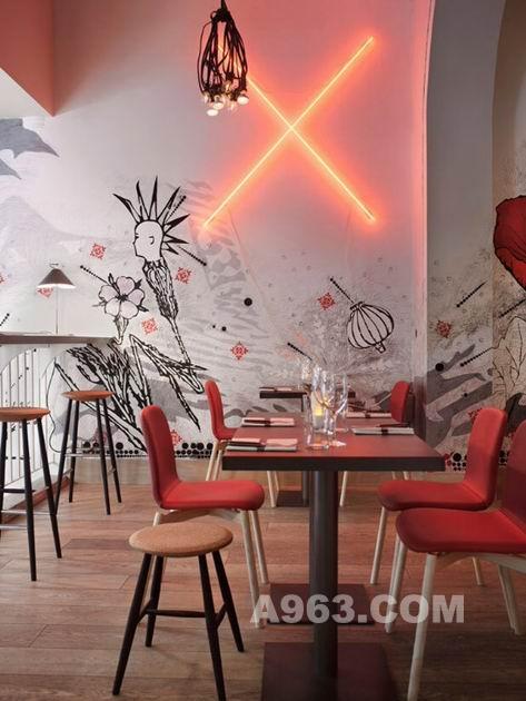 毕加索餐厅实景照片高清图片