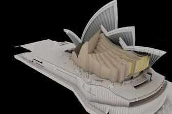 伍重公布修改后的悉尼歌剧院内部设计图片