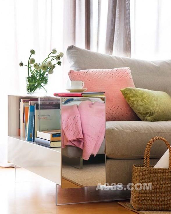 充满灵感的清新现代室内设计