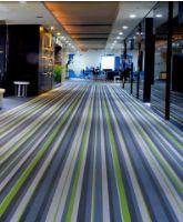 编织纹地毯壁布设计空间