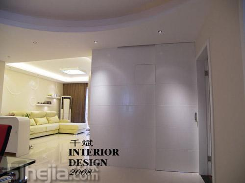 10款隐形门背景墙设计