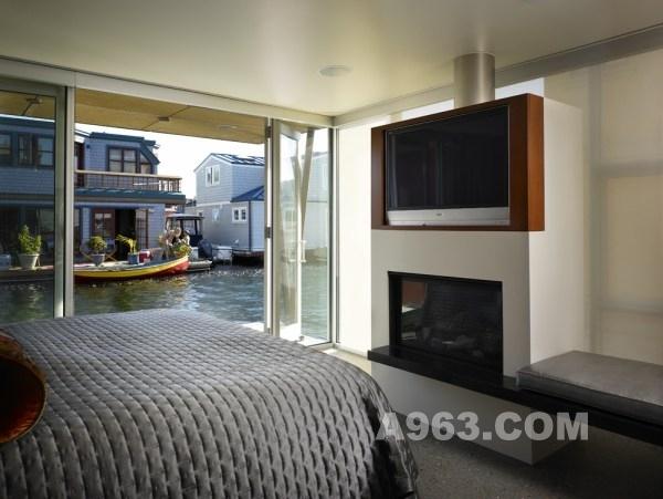 西雅图湖上装修公司设-刘丹姚斑竹的设计师家漂浮别墅收费设计图片