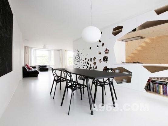 简单之美——极简公寓室内设计欣赏