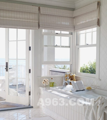 白色海景别墅 一见钟情的浪漫家居