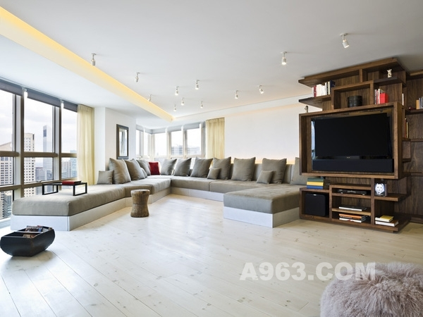 现代主义风格公寓设计