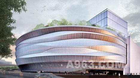 商业空间设计:墨西哥利物浦百货购物中心_中华