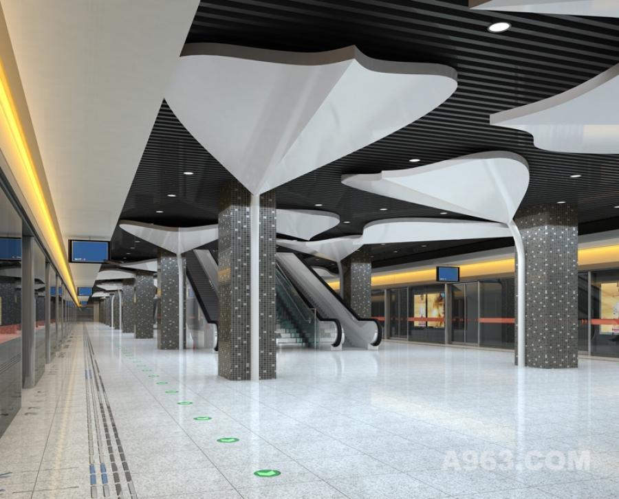 生态地铁设计概念2 生态地铁