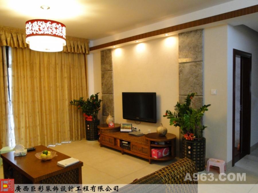 客厅 现代中式风格
