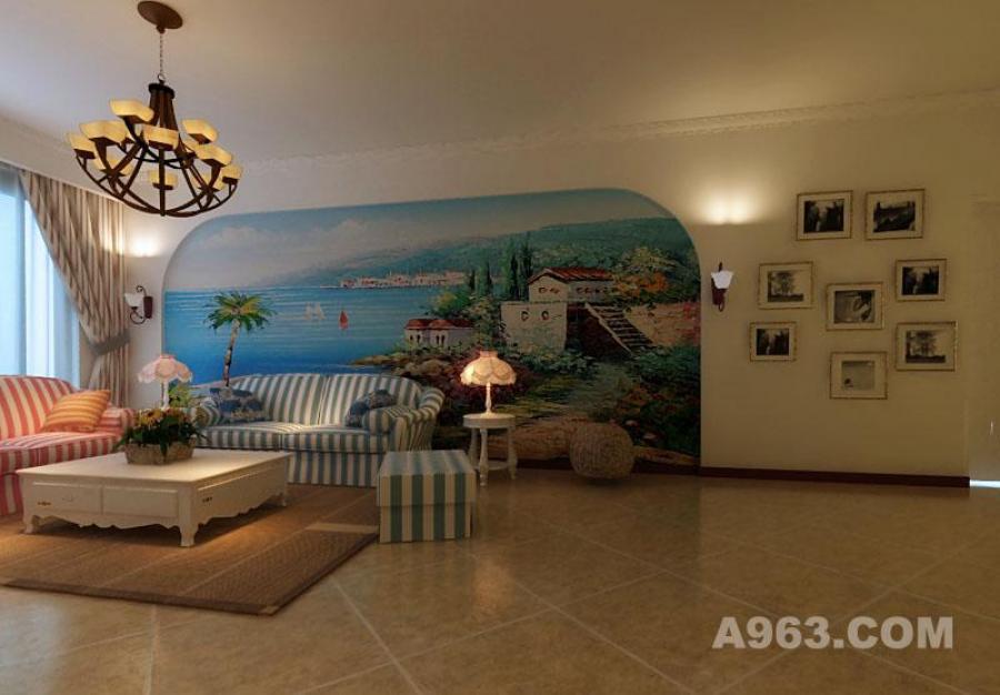 客厅2 地中海