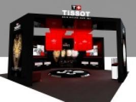 国际品牌天梭表展厅